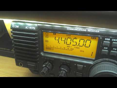 TAH Istanbul Radio, 4405 kHz USB, 18:14 UTC