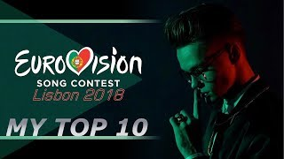 [OFFICIAL] EUROVISION 2018 ► MY FINAL TOP 10
