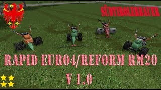 "[""Rapid Euro4/Reform Rm20"", ""Mod Vorstellung Farming Simulator Ls17: Rapid Euro4/Reform Rm20""]"