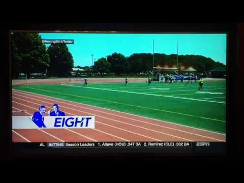 U16 Reading Rage Girls Long Soccer Thrown In As Shown On ESPN Top 10 - July 14, 2017