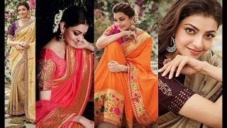 Kajal Agarwal Latest Photo Collection | Kajal Rare Photos in Saree