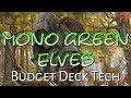 Mtg Budget Deck Tech: Mono-Green Elves in GRN Standard