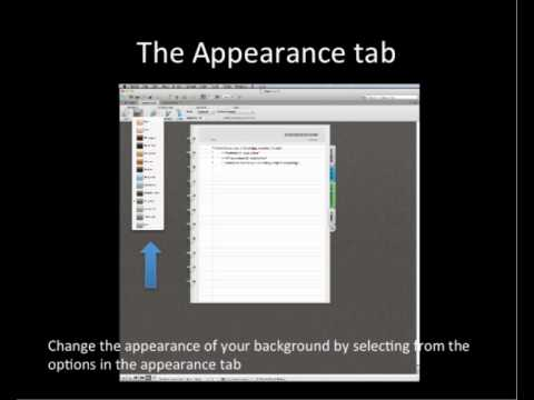 Using Notebook Layout View in Word 2011 - YouTube