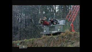 """Трюки на машинах в фильме """"Незнакомое оружие, или Крестоносец-2"""" (1998)"""
