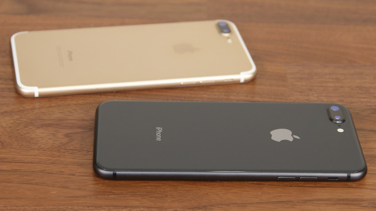 IPhone 8 Plus Vs 7 Full Comparison