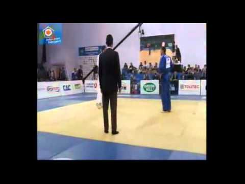 European Judo Championship Istambul -100kg final : Amel Mekic vs. Levan Zhorzholiani