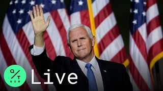 LIVE: Pence Hosts Presidential Debate Watch Party in Lititz, Pennsylvania