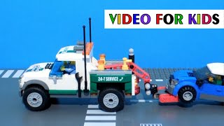 Lego City 60081 Pickup Tow Truck - Lego Fast Build