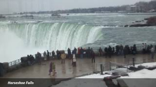 What Niagara Falls looks like on the 24th of December ... afternoon escape