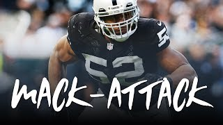 Khalil Mack 2017: Mack-Attack (Raiders Highlights) ᴴᴰ