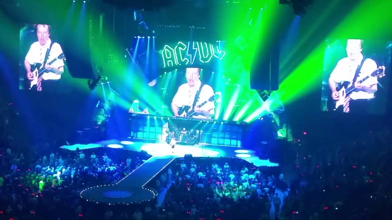 AC/DC (live, Axl): 14 Live Wire - YouTube