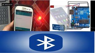 Arduino with HC-05 Bluetooth Module (Bluetooth LED tutorial)