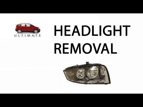 Audi A2 Headlight / Headlamp Removal (Even if connector clip has broken)