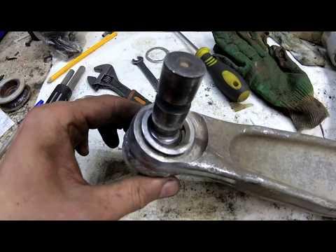 ремонт переднего рычага Vectra C