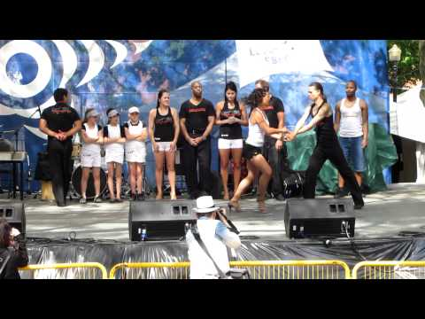 Anacaona Danse Rive-Sud amateurs at Festivalissimo on June 6th