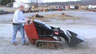 2011 Toro Dingo TX427 Mini Rubber Track Skid Steer Loader Bobcat Loader Kohler !