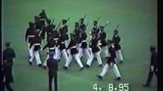 NMMI Centurion Rifle Drill Team - Regulation Close Order Drill Phase of Competition 04/08/1995