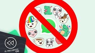 Apple prohíbe los stickers para WhatsApp   El Recuento Go
