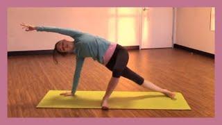 Power Yoga Workout Full 30 min Class - Arm Balances & Core Work!
