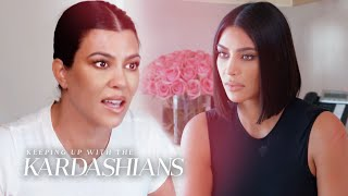Why Did Kourtney & Kim Kardashian Get Physical?   KUWTK   E!