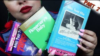 ASMR| Horror Movie Collection - VHS Edition (Part 2)