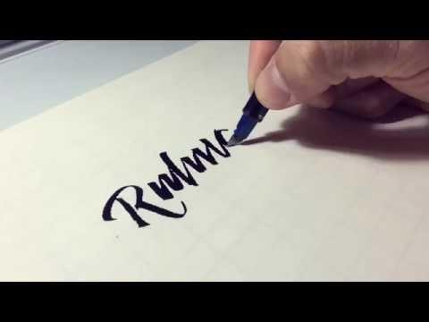 Pilot Parallel Pen – Modified – Ruling Pen