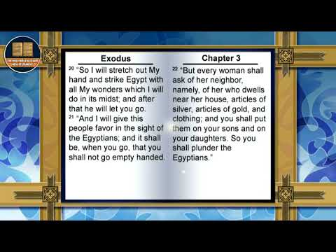 "THE HOLY BIBLE "" EXODUS ""  BOOK 2 OF 39 THE OLD TESTAMENT NEW KING JAMES VERSION"