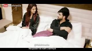 💖💖Na hum bewafa hain na pyar hai kam darmiyaan songs status//New sad love whatsapp status💖💖Lyric