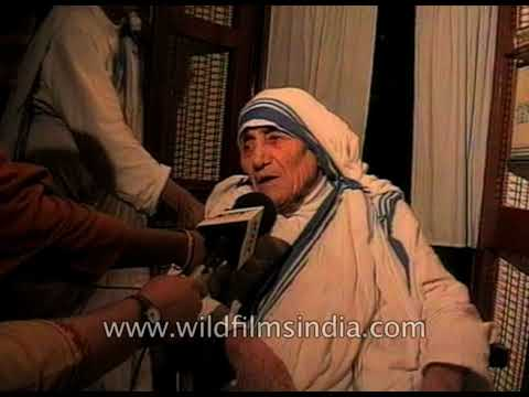 Mother Teresa At Missionaries Of Charity, Kolkata