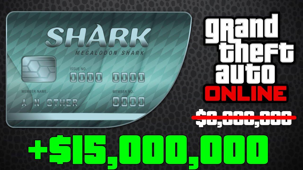 GTA 5 DLC - GET $15,000,000 FOR PRICE OF MEGALODON SHARK CARD MONEY TRICK (GTA ONLINE) - YouTube