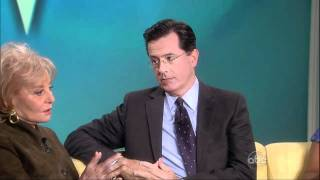 Stephen Colbert Walks Off! - The View.flv