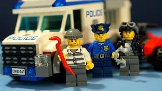 Лего Полиция 60043 + мультики про машинки. Видео обзор на русском языке. Кока Туб