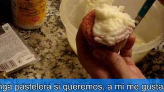 tutorial: cup cakes arcoiris
