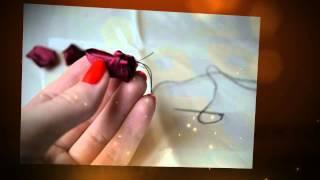 Как сделать искусственные цветы. Делаем красную розу из лент