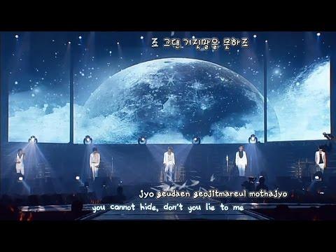 DBSK 동방신기 - Don't Say Goodbye 3rd Asia Tour [eng + rom + hangul + karaoke sub]