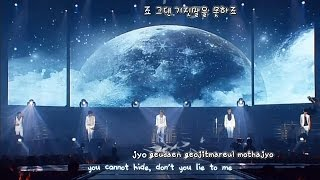 DBSK 동방신기 - Don't Say Goodbye 3rd Asia Tour [eng + rom + hangul + karaoke sub]