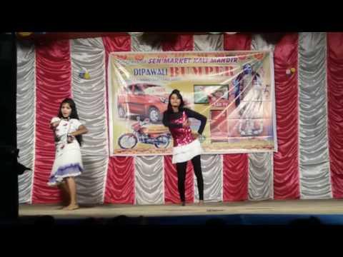Dhoka dhoka new hot girls items video song (senmarket durgapur 1  video  by bugi wigi Dan's  )