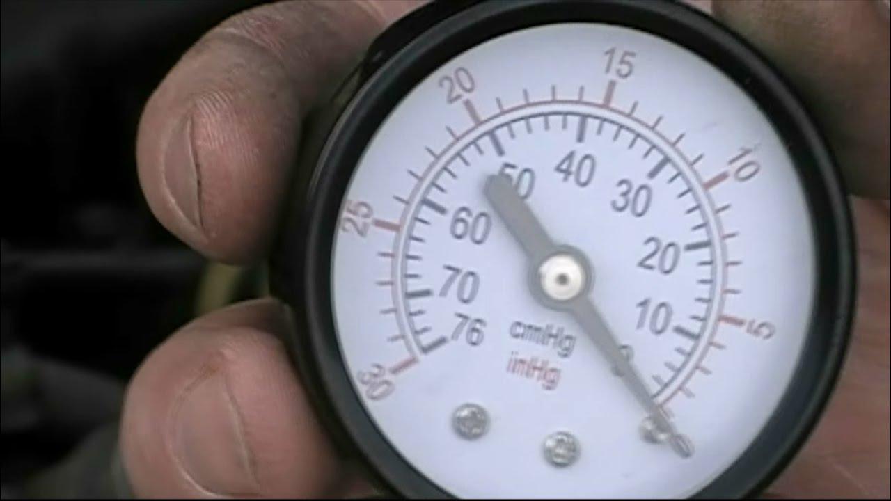 Проверка вакуумного насоса сервопривода тормозного усилителя