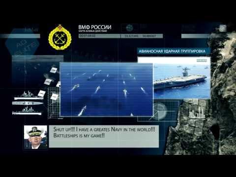 Боевое столкновение ВМФ США и ВМФ России в средиземном море!