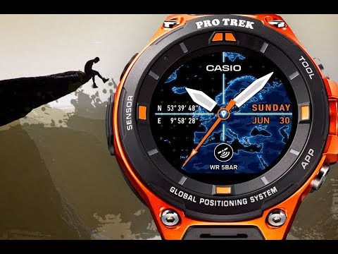 cca169be746 RELÓGIO CASIO PRO TREK SMART WSD-F20 PTBR - YouTube