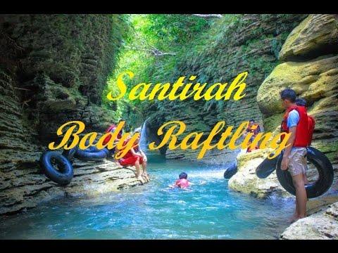 Santirah (River Tubing) - Body Rafting Pangandaran Paradise