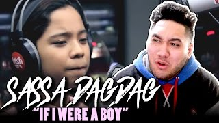 Sassa Dagdag - If I Were A Boy (Beyonce Cover) REACTION!!!