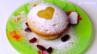 Как приготовить ванильные кексы на кефире - Ванильные маффины простой рецепт
