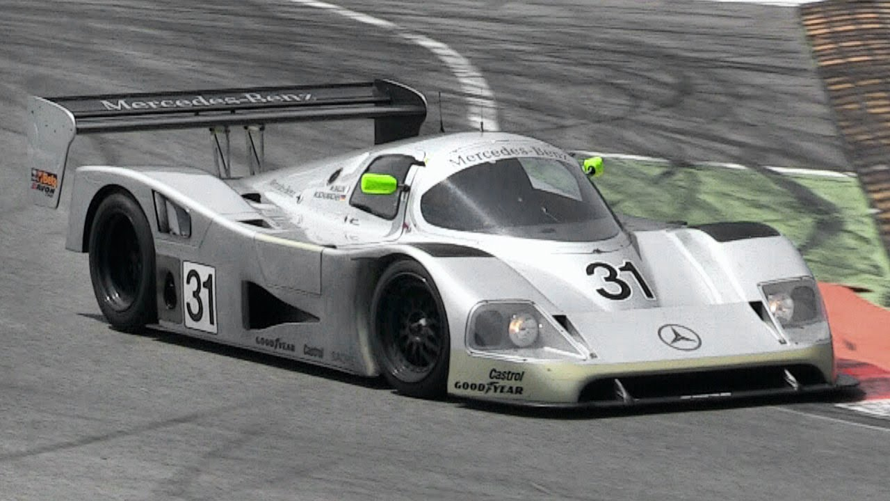 Sauber Mercedes C11 Group C Pure Sound at Monza Circuit - YouTube