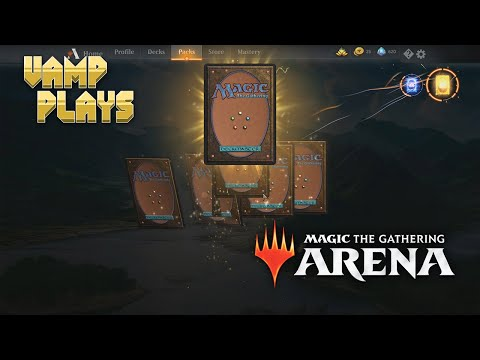 MTG Arena   Small Pack Opening   Vamp Plays