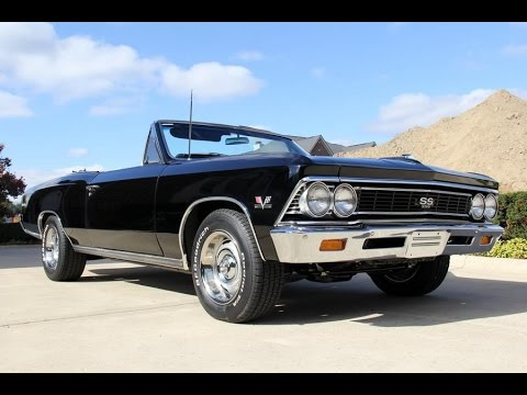 1966 Chevrolet Chevelle Ss396 Convertible For
