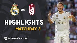 Highlights Real Madrid vs Granada CF (4-2)