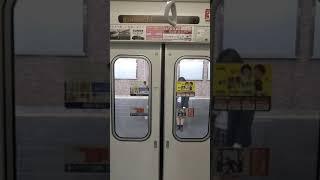 東武50090系(川越特急)ドア開閉と発車シーン(スマホで撮影)