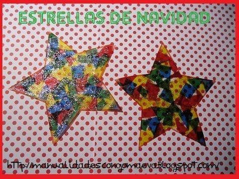 Como hacer una estrella decorada para navidad youtube - Ideas para decorar estrellas de navidad ...