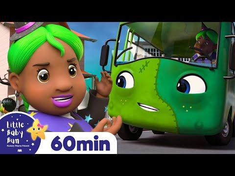 Wheels On The Bus! It's Halloween! +More Nursery Rhymes And Kids Songs ABCs \u0026 123s | Little Baby Bum